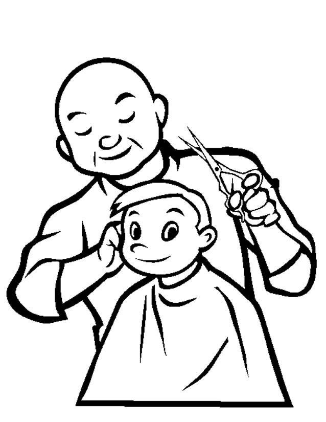 jeux de coiffure coloriage à dessiner
