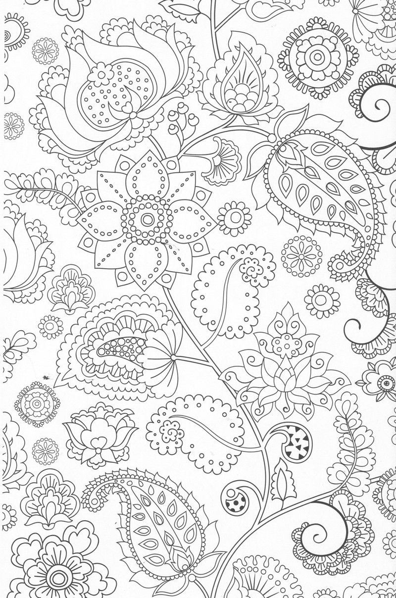 dessin colorier anti stress magazine - Coloriage Anti Stress Imprimer
