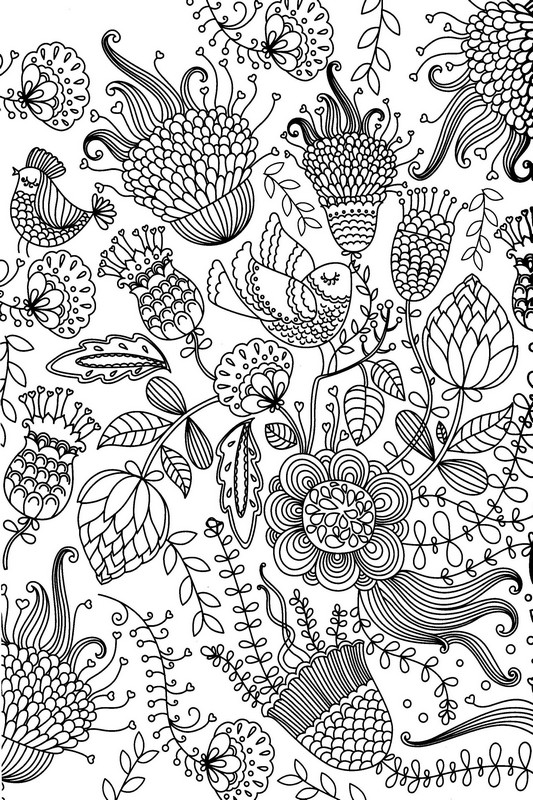 coloriage à dessiner anti stress prix