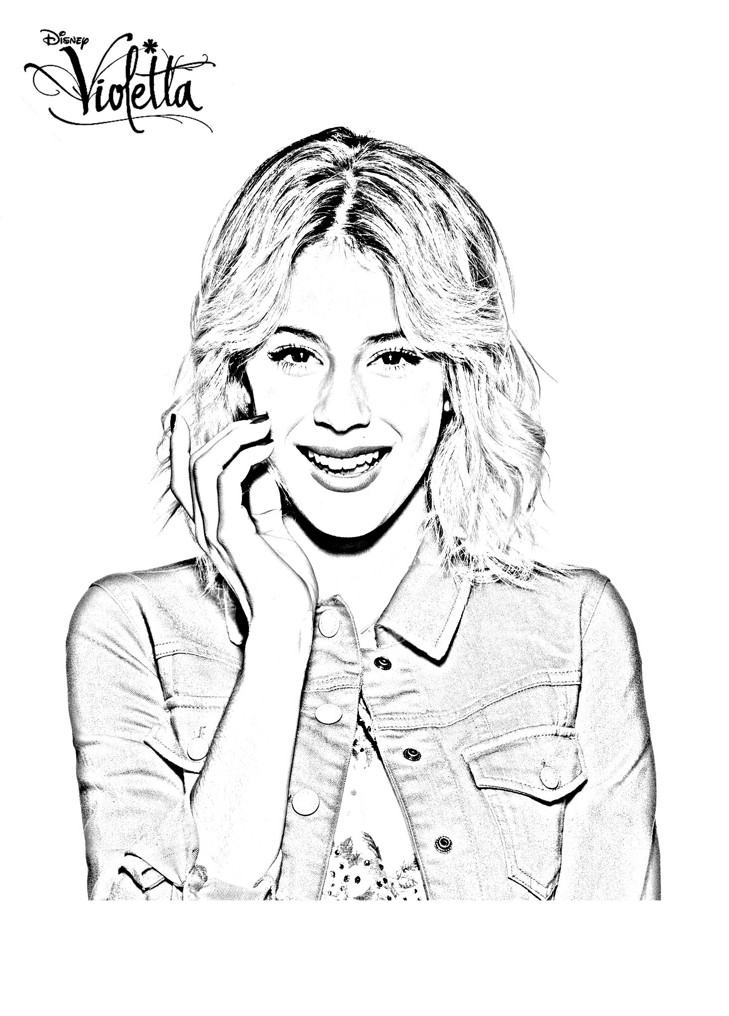 violetta coloring pages - photo#33