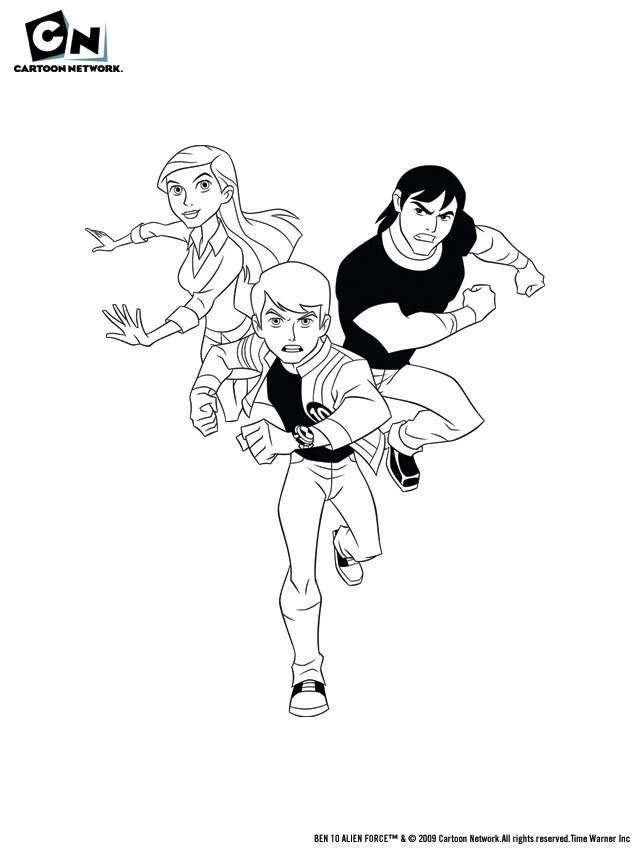 Jeux de dessin colorier de corneil et bernie - Dessin anime corneil et bernie ...