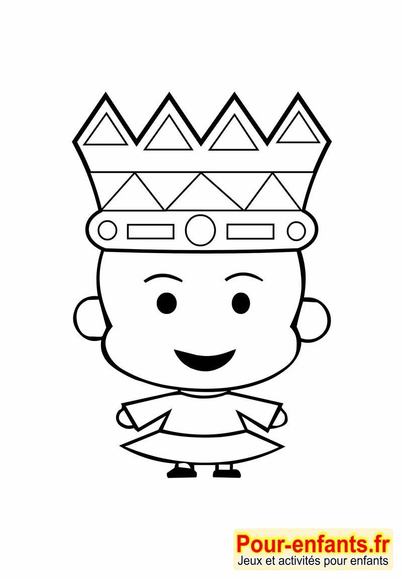 dessin couronne galette des rois