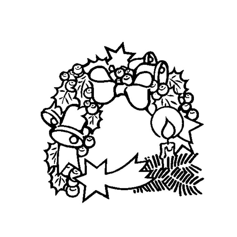 33 dessins de coloriage couronne imprimer - Couronne de noel a colorier ...