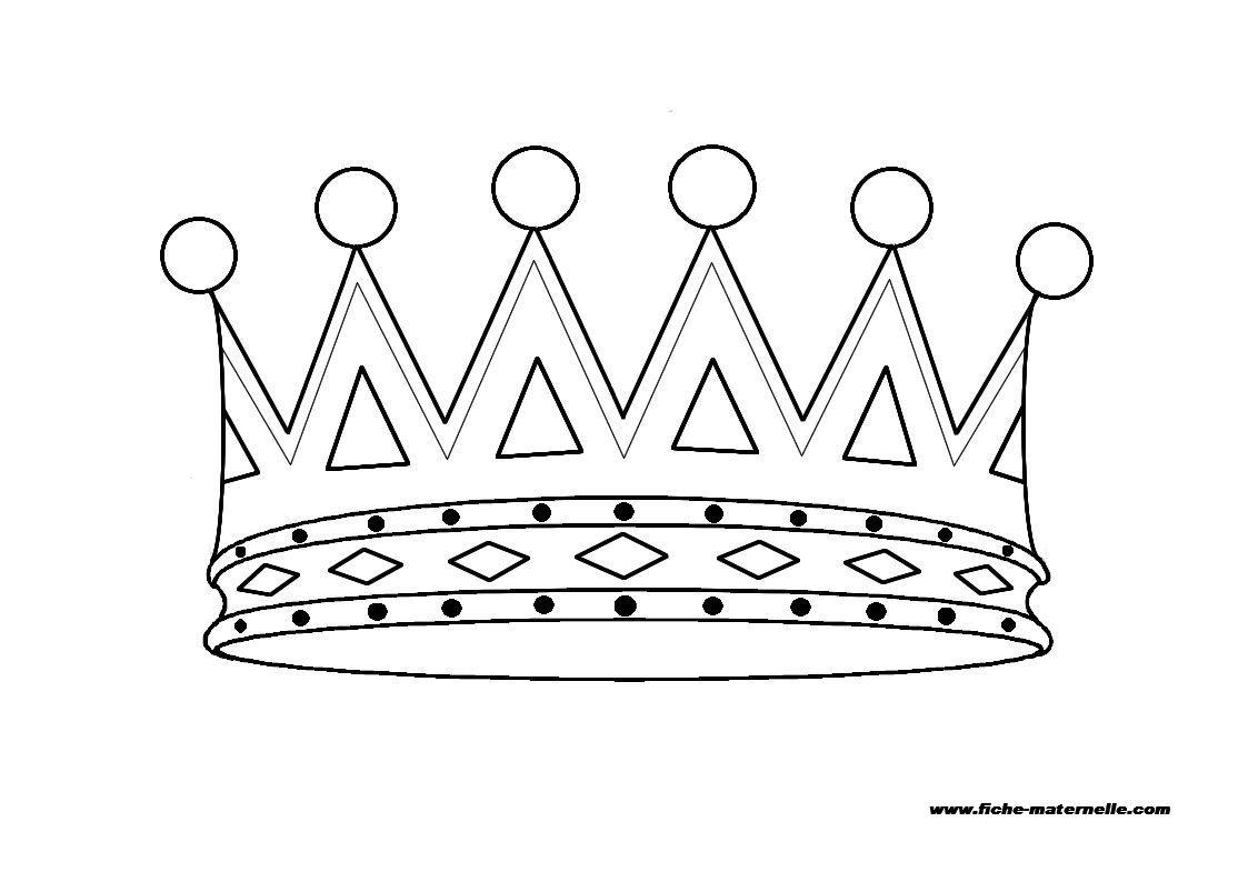 Coloriage couronne princesse - Couronne a colorier et imprimer ...
