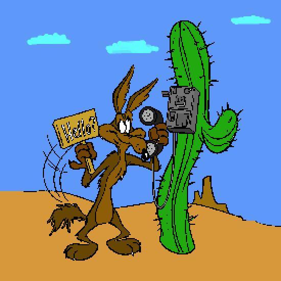 coloriage beep beep coyote