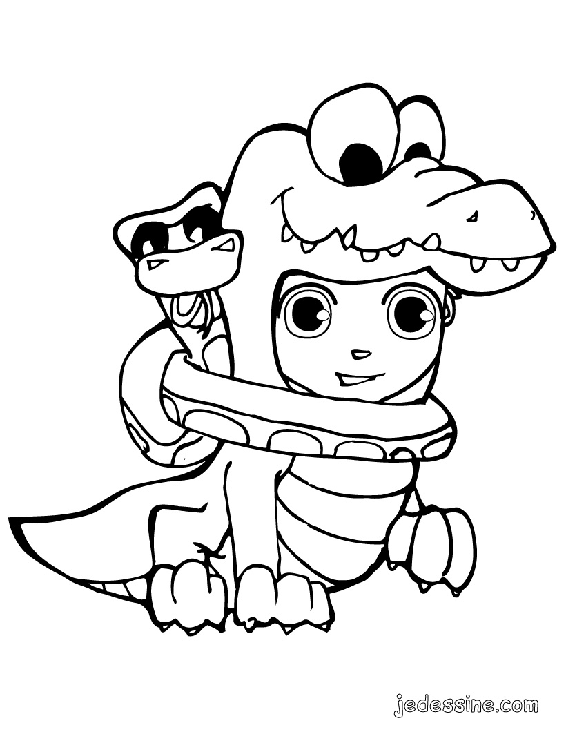 halloween pokemon coloring pages - coloriage pokemon crocodile