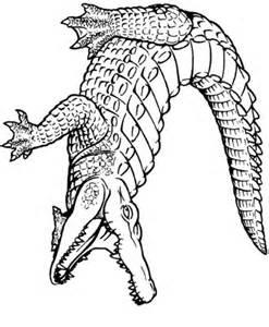 Coloriage Crocodile Mechant.Coloriage A Dessiner A Imprimer Crocodile