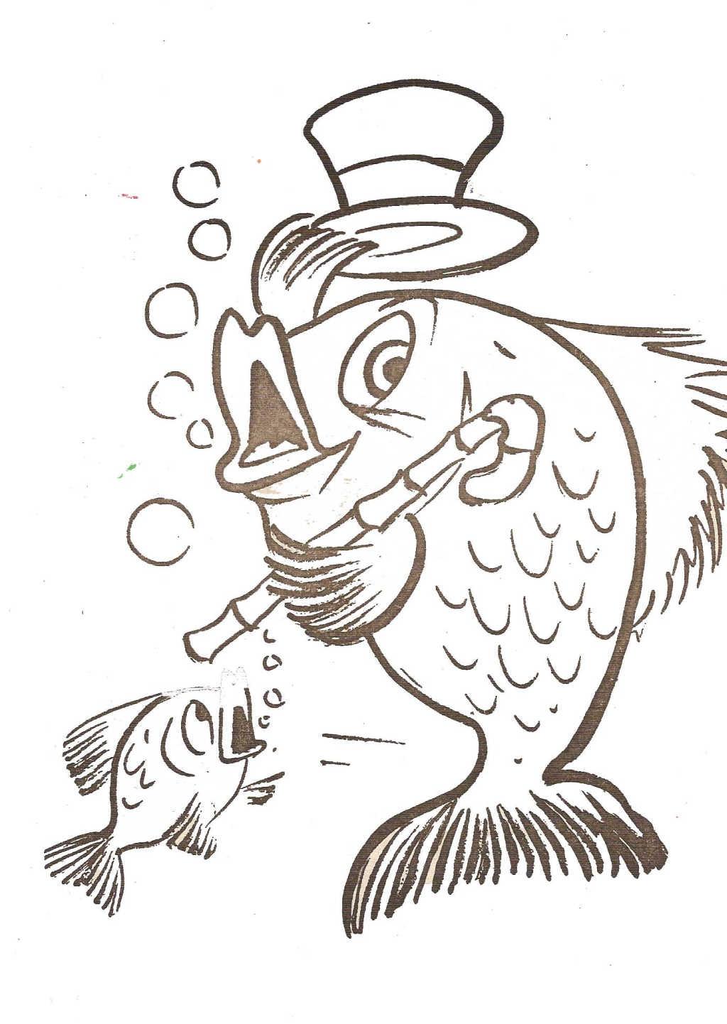 9 dessins de coloriage cuisinier rigolo imprimer - Dessin cuisinier humoristique ...