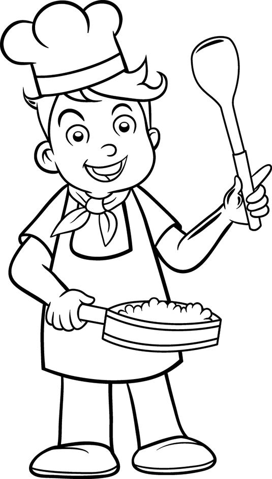 dessin cuisine gâteau