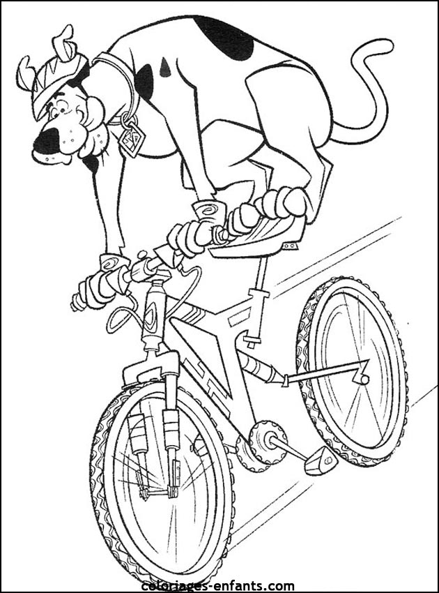 Dessin colorier cycliste imprimer - Cycliste dessin ...