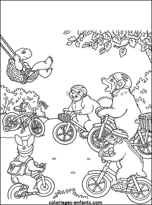 dessin à colorier maillot de cyclisme