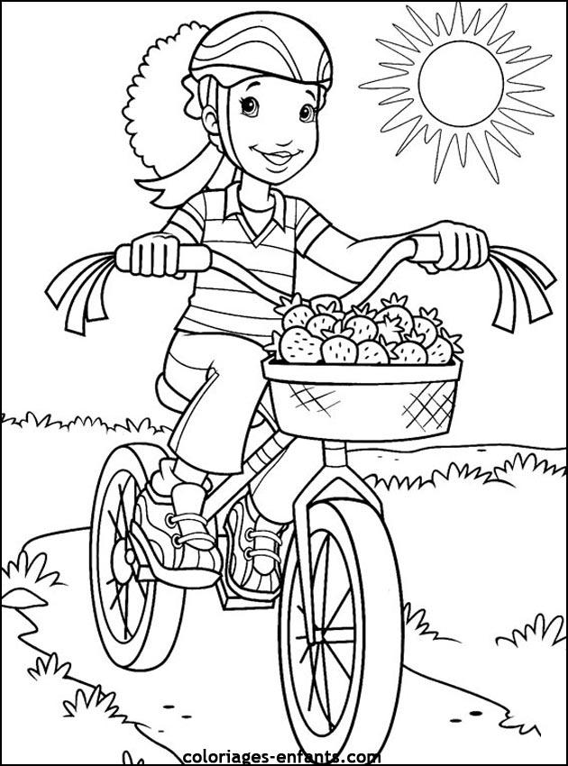 dessin de cycliste