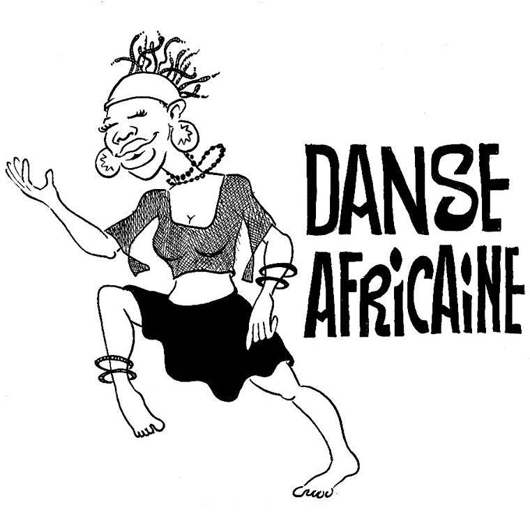 coloriage danseuse hawaienne