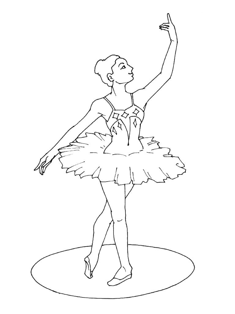 dessin colorier danseuse orientale