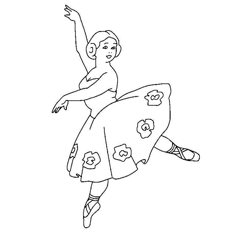 dessin danse moderne jazz