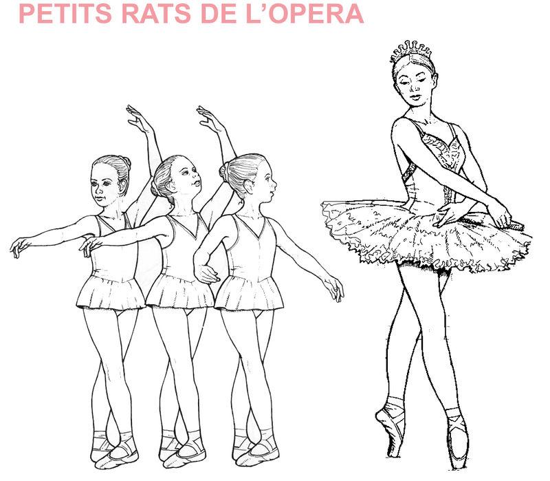 coloriage à dessiner danse en ligne