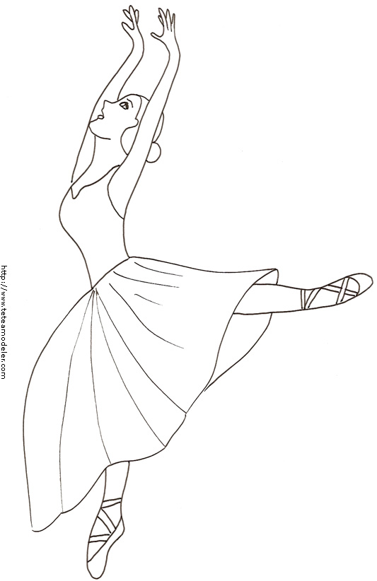 Coloriage dessiner danseuse de flamenco - Dessin danseuse de flamenco ...