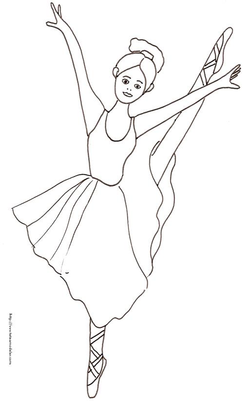 coloriage à dessiner danse zumba
