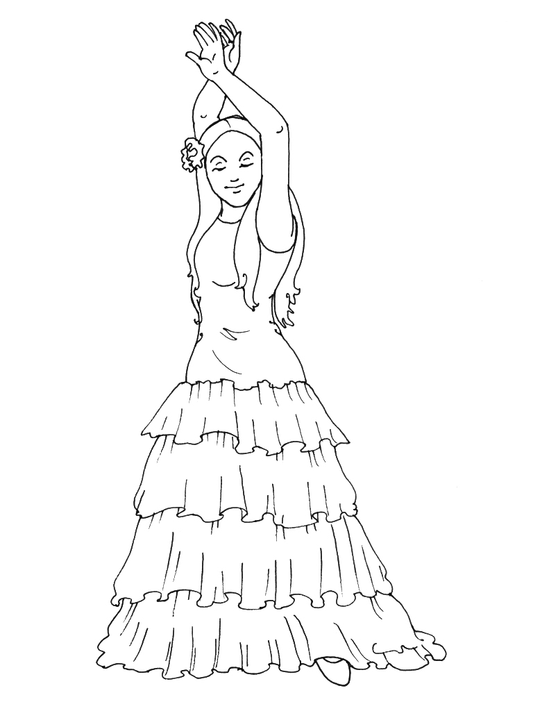 Coloriage Danse Adulte.28 Dessins De Coloriage Danseuse A Imprimer