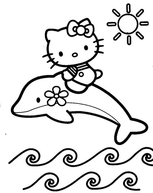 coloriage dauphin en ligne gratuit