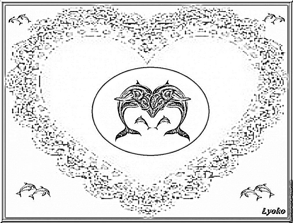 Image a colorier dauphin - Photo de violetta a imprimer gratuit ...