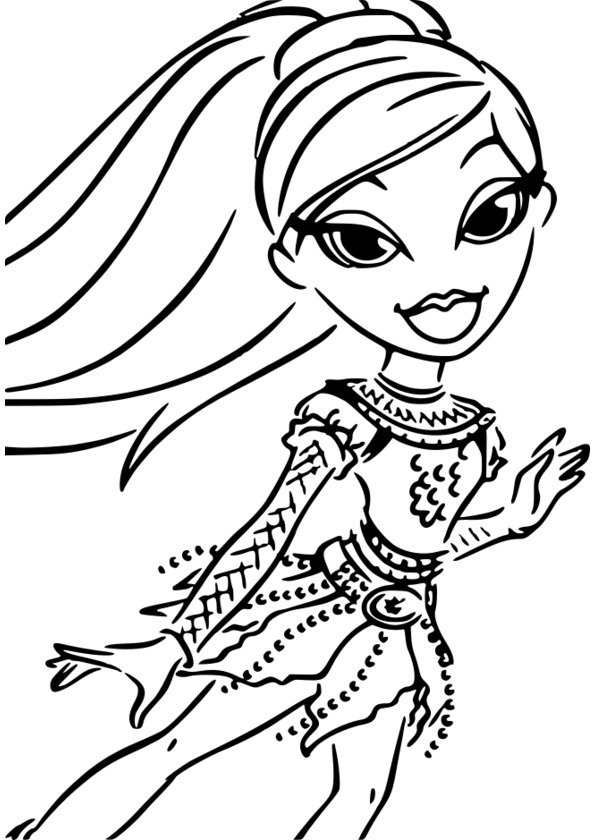 Dessin de fille manga top model dessin de manga - Coloriage top model a imprimer ...