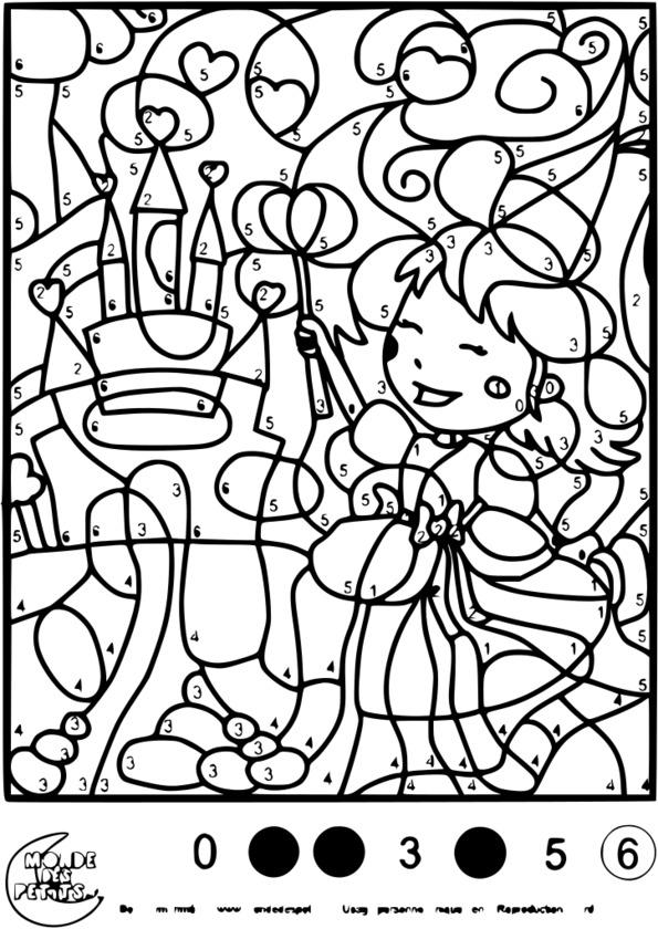 Frais Dessin Animé Disney A Colorier Princesse