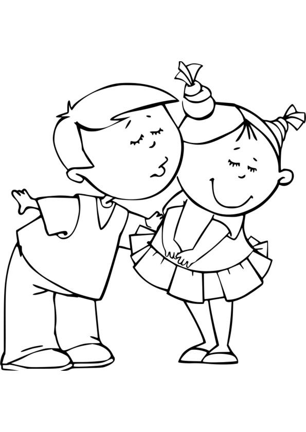dessin de bratz fille et garçon