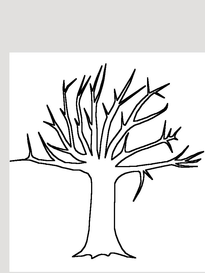 18 dessins de coloriage de tronc d 39 arbre imprimer - Dessin bourgeon ...