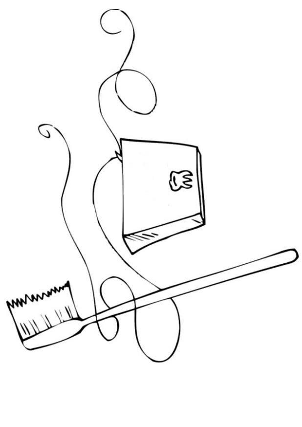 dessin à colorier dentiste a imprimer