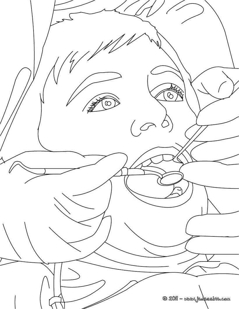dessin dentaire