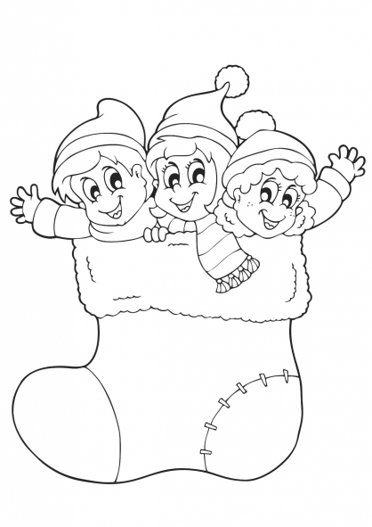 Hd Wallpapers Coloriage Lutin De Noel A Imprimer