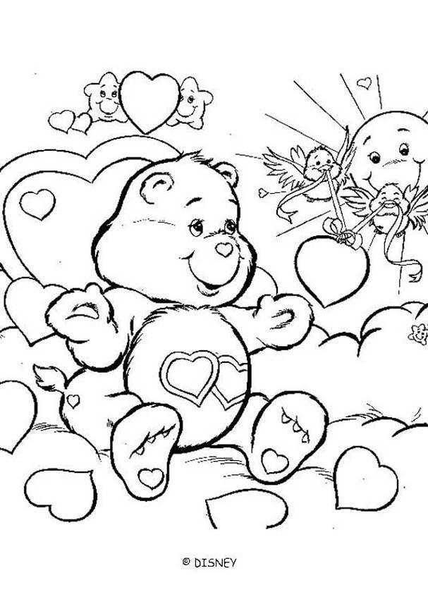 coloriage dessin animé ovni