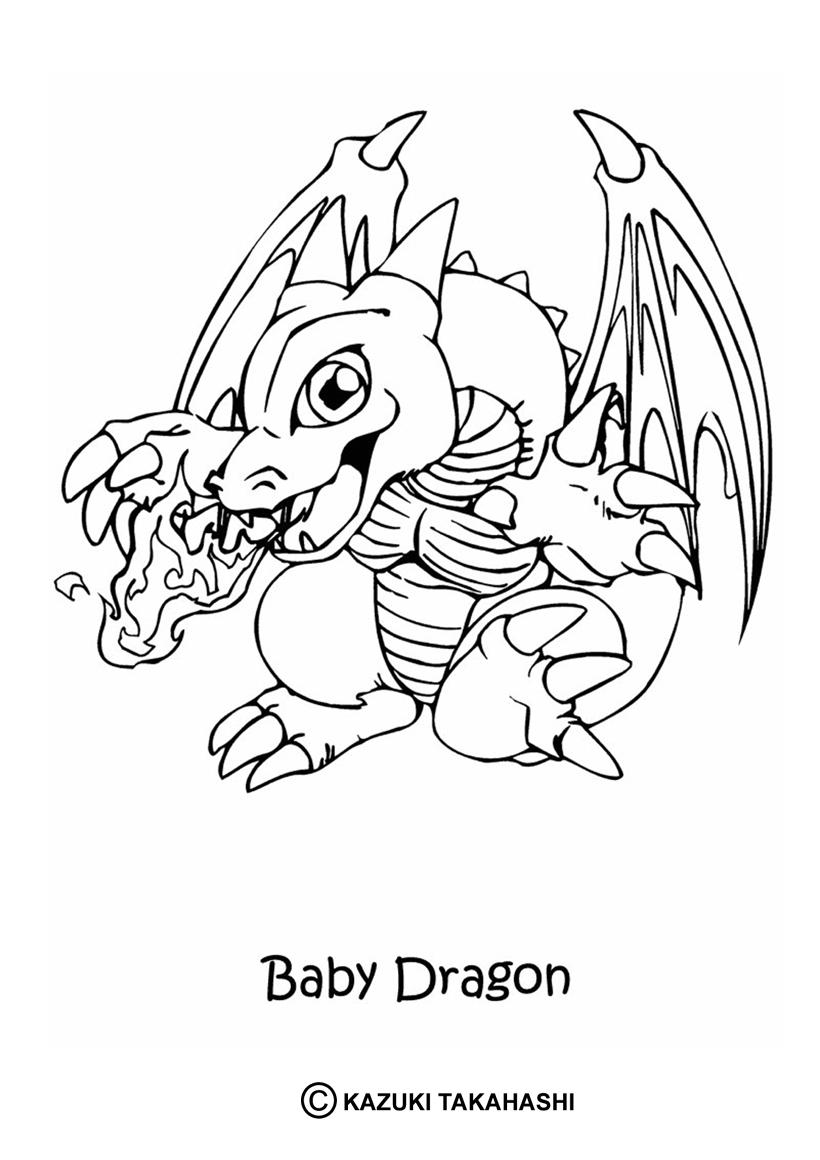 20 dessins de coloriage Dessin Anim Dragon imprimer