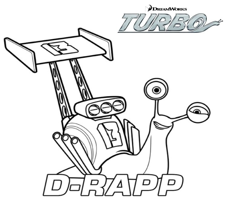 Coloriage Fille Turbo.Coloriage Turbo Et Tito Imprimer Coloriage De Turbo Marnfozine Com