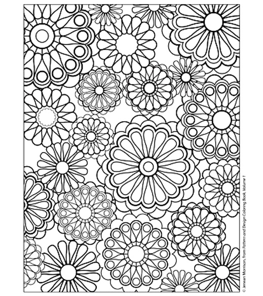 coloriage à dessiner mandala difficile hugo l'escargot