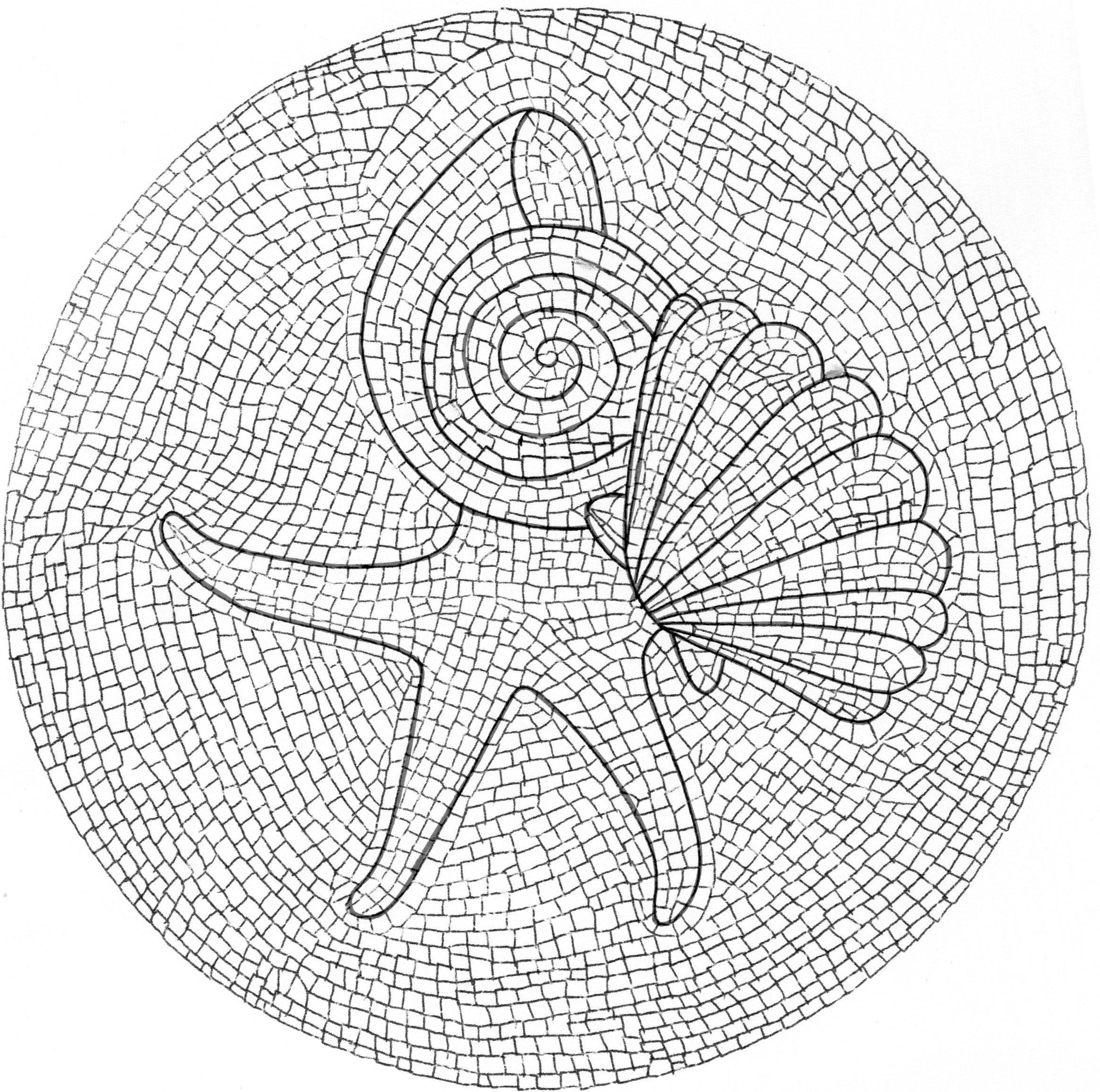 dessin à colorier magique difficile à imprimer