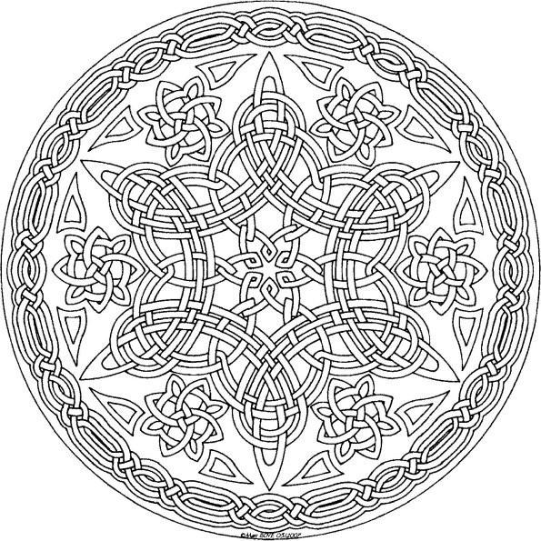 coloriage dessiner mandala difficile hugo l 39 escargot