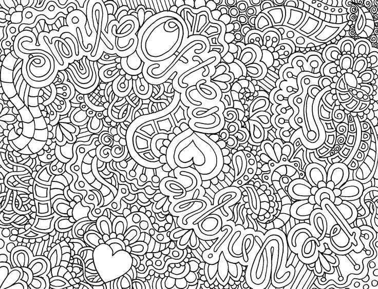 dessin à colorier difficile pour adulte