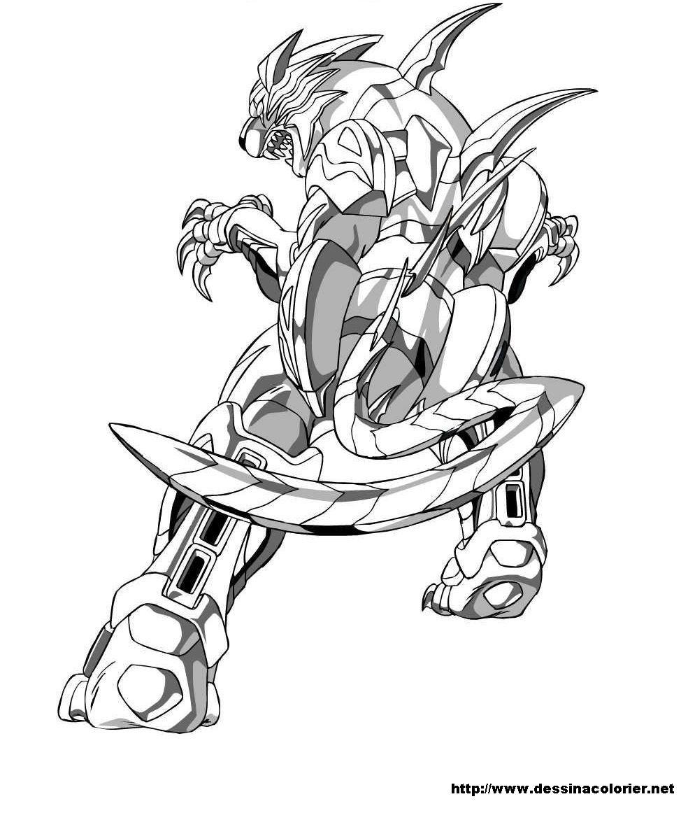 dessin à colorier de dinofroz