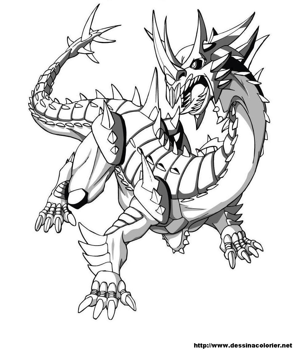 dessin à colorier dinofroz a imprimer