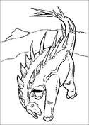 coloriage à dessiner de dinosaur king a imprimer