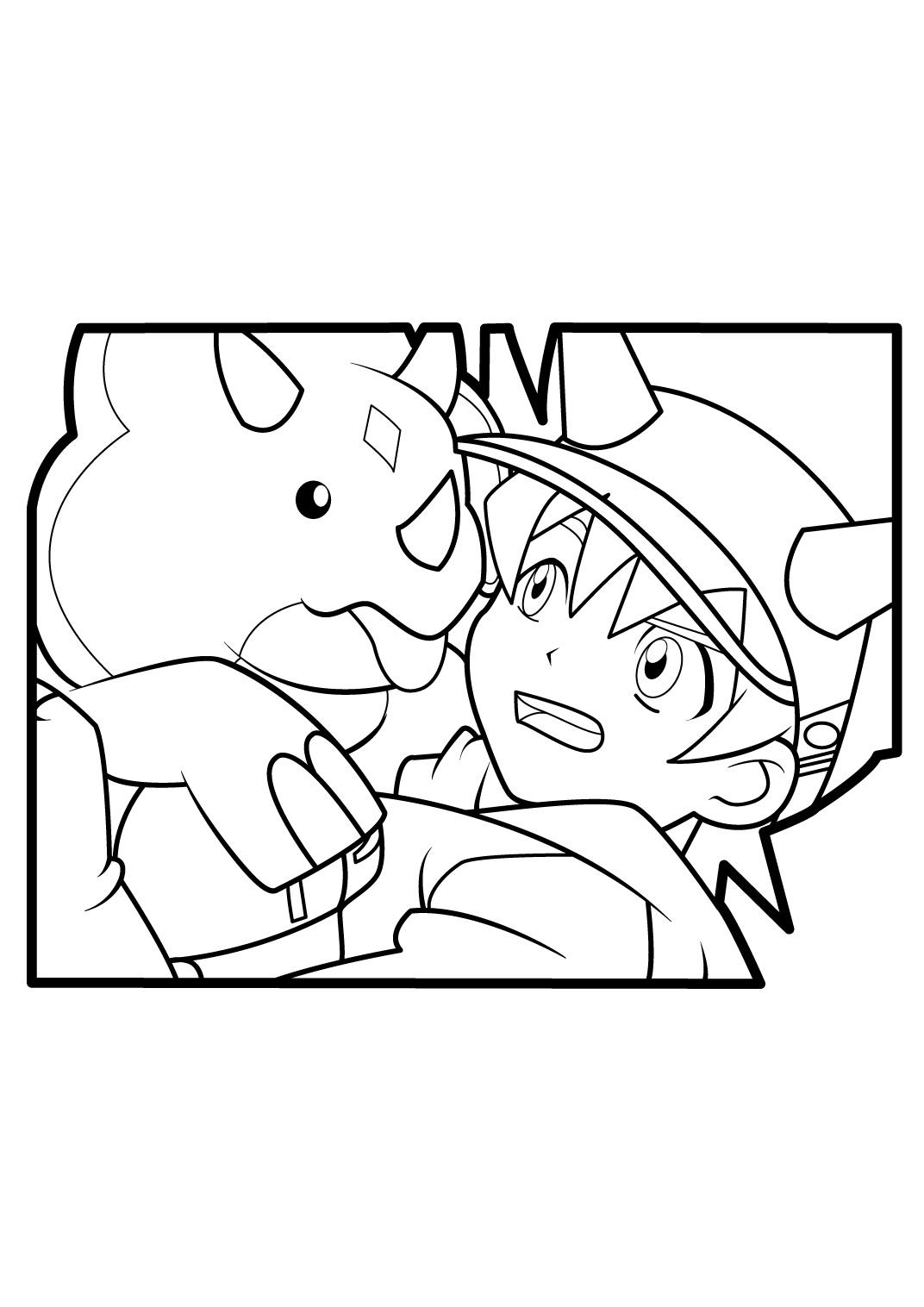 coloriage à dessiner de dinosaur king