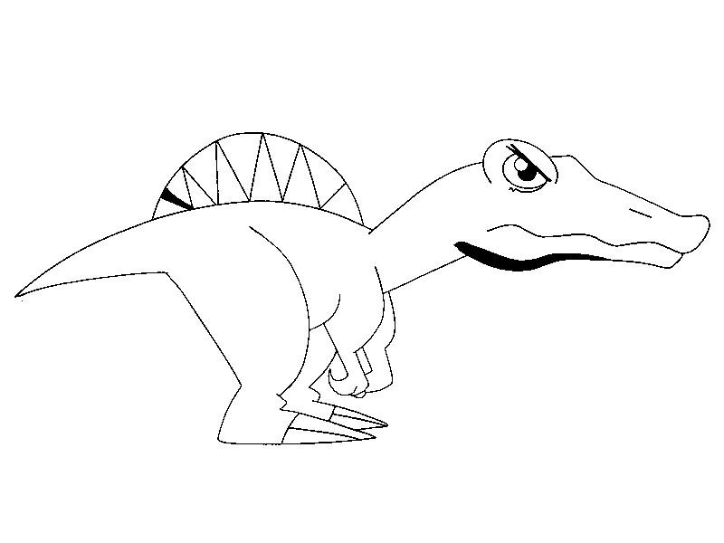 coloriage de dinosaur king a imprimer