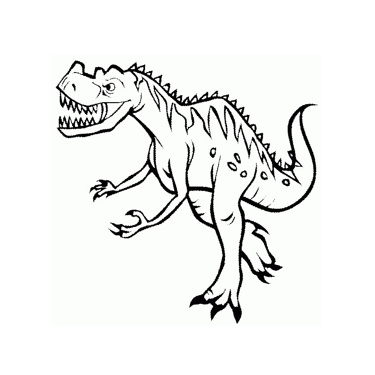 imprimer coloriage dinosaure king