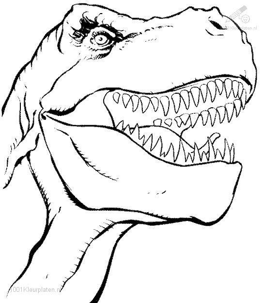 imprimer dessin dinosaure king