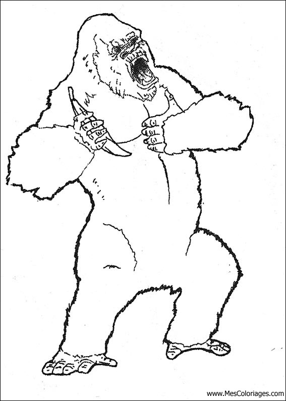 dessin à colorier dinosaur king gratuit