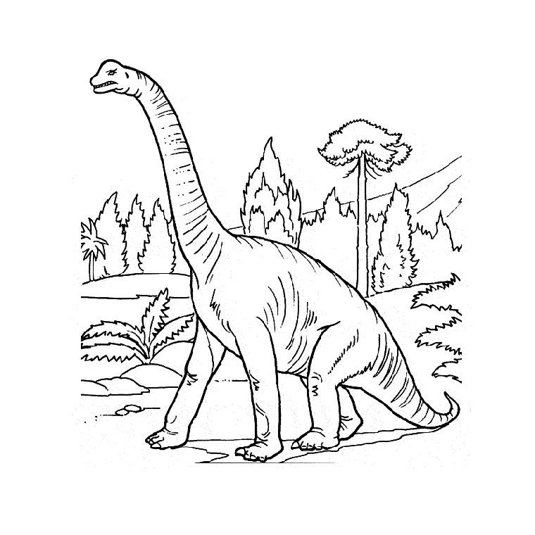 18 Dessins De Coloriage Dinosaure à Imprimer Gratuit à Imprimer