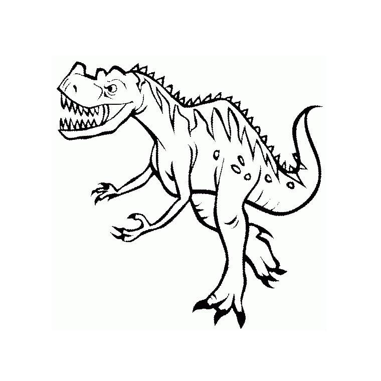 20 dessins de coloriage dinosaure en ligne gratuit imprimer. Black Bedroom Furniture Sets. Home Design Ideas