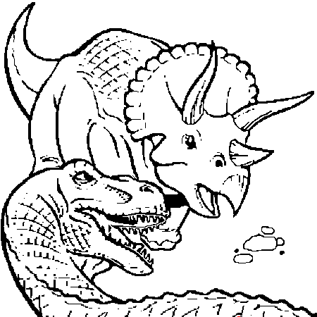 20 dessins de coloriage dinosaure en ligne gratuit imprimer - Coloriage de dinosaures ...